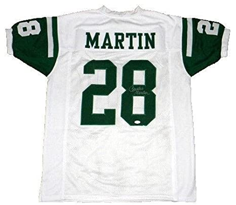 ef924afdc Curtis Martin Autographed Jersey - Ny  28 White - JSA Certified ...