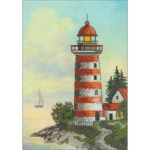 Pt Lighthouse - RIOLIS 0044 PT - Lighthouse - Counted Cross Stitch Kit 8¼
