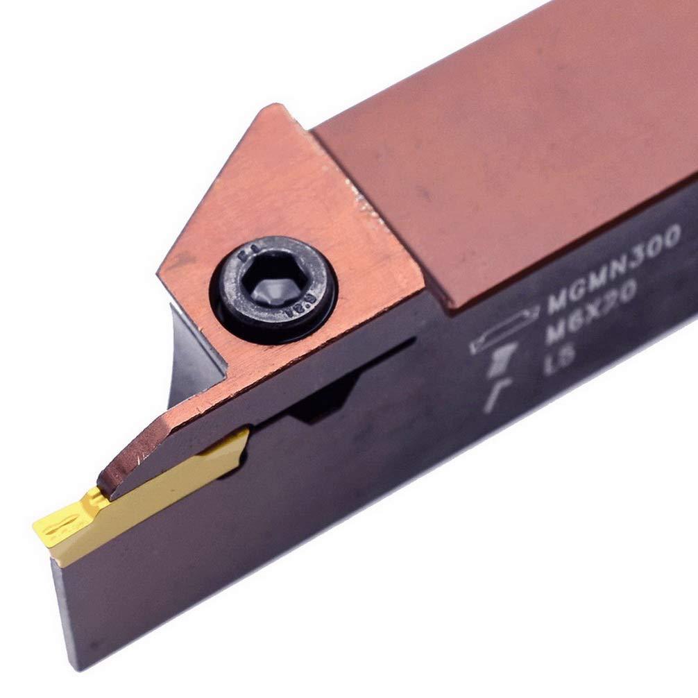 Maifix MGEHR1212-2T12 12mm Spring Steel Shank CNC Lathe Grooving 2mm Width Groove Cutting Metal Machine Tools