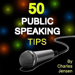 50 Public Speaking Tips Audiobook