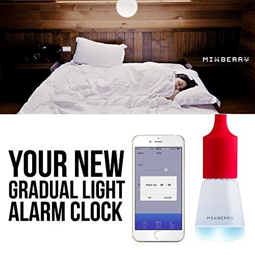 Mixberry MSL7RGB127 Lampada Intelligente RGB con Effetti Colore a Tempo di Musica