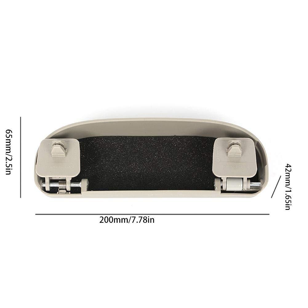 Caja De Almacenamiento Caja De Almacenamiento De Marco De Manija De Techo Caja De Almacenamiento De Gafas De Sol para Coche Organizador De Gafas Compatible con Toyota RAV4 2013-2019