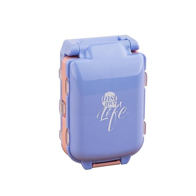 Organizador de pastillas PB-C1 , Azul, 1: Amazon.es: Salud y cuidado personal