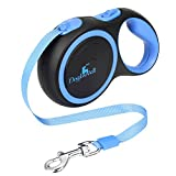Retractable Dog Leash, Dogloveit 10Ft Flexi Retractable Dog Leash for Small Medium Dogs Under 35 lbs