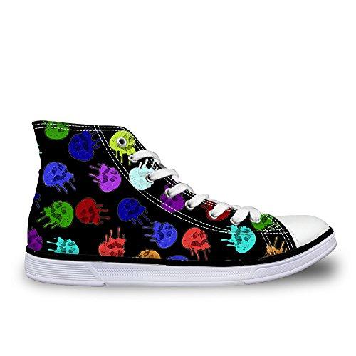 donna a Skull Pantofole Design Coloranimal 1 Stivaletto 1tT8gwx