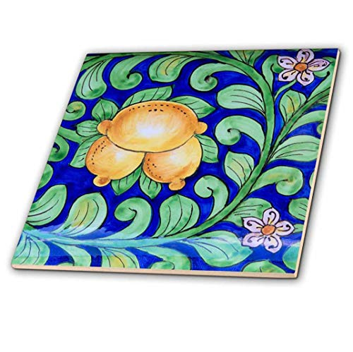 3dRose Italia, Orvieto. Italiano cerámica placa para la venta en la calle.–Baldosas De Cerámica, 10.2cm (CT...