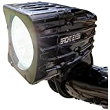 Bright Eyes Rechargeable Mountain Bike Headlight - NEWLY UPDATED 1200 LUMENS - 6400mAh Battery - POWERFUL BEAM - FREE TAILLIGHT AND DIFFUSER LENS Included, Limited Time - WATERPROOF - No Tools required - LIFETIME WARRANTY