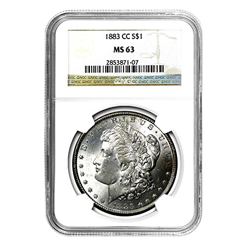 1883 CC Morgan Dollar $1 MS-63 NGC
