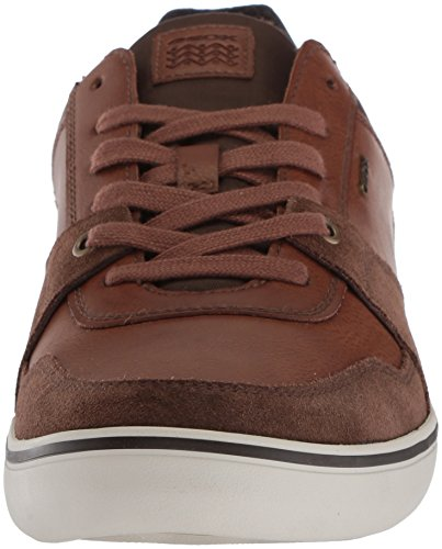 Geox Heren Box 27 Fashion Sneaker Skin / Cognac