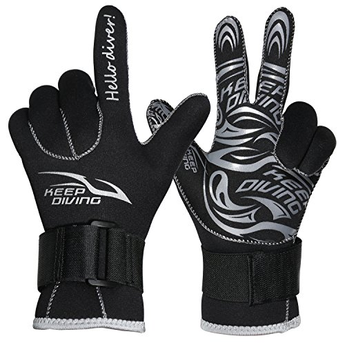 Wetsuit Gloves -3mm Diving Gloves Premiu - Womens Descent Water Shoe Shopping Results