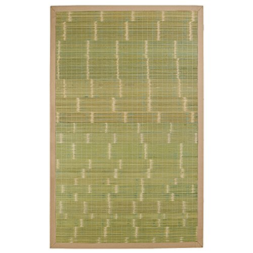 Key West Bamboo Rug 2' x 3' (Green Bamboo Rug)