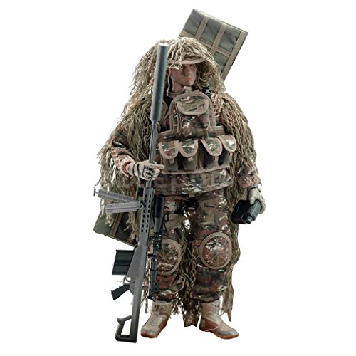 12'' Sniper Special Forces Soldier War Game Action Figure Collectible by uptogethertek