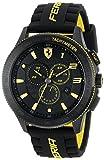 Ferrari Men's 0830139'Scuderia XX' Stainless Steel Watch with Black...