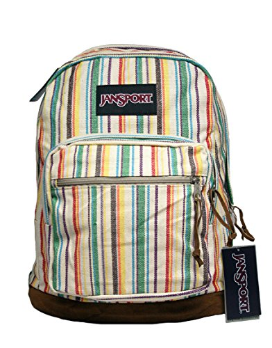 JanSport Unisex Right Pack Expressions Multi Weave Stripe One (Eagles Heart Watch)