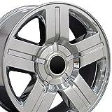 OE Wheels 20 Inch Fits Chevy Silverado Tahoe GMC Sierra Yukon Cadillac Escalade CV84 Chrome 20x8.5 Rim Hollander 5291
