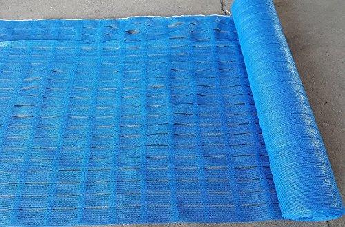 ネットフェンス ブルー 1m×50m フェンスネット 仮設フェンス 簡易フェンス B01C77MY9S