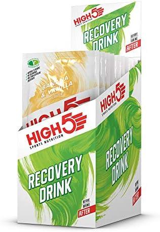 HIGH5 Bebida de Recuperación Bolsitas de Proteína (Plátano ...