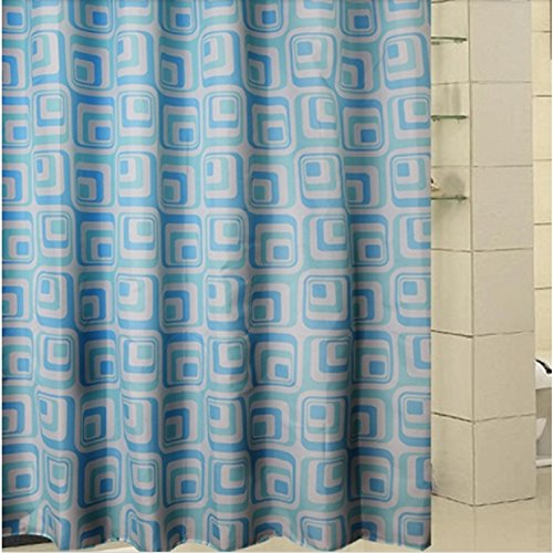 Fabric Shower Curtain Extra Long Shower Curtain Bathroom Fabric Curtains, 11 Sizes Options
