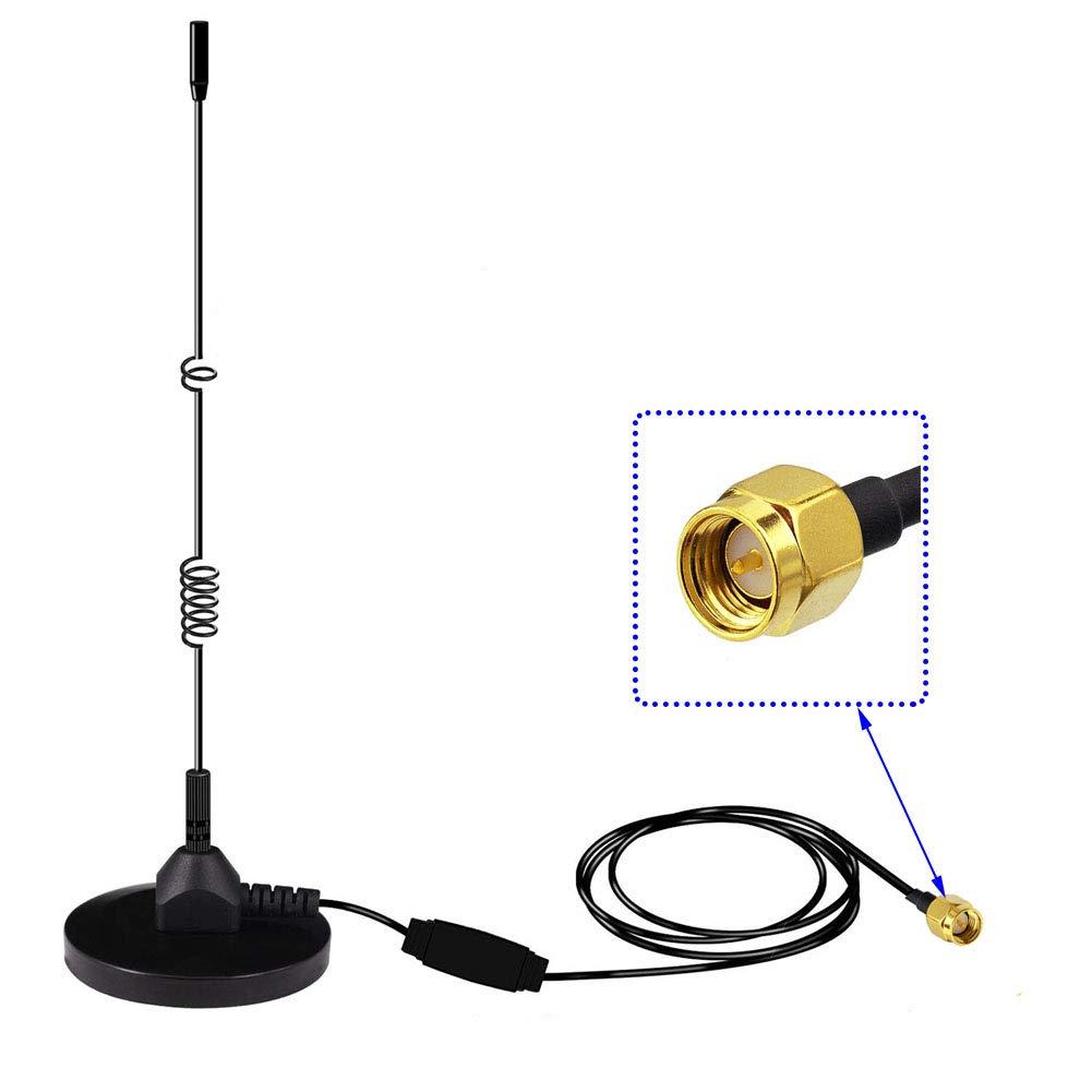 Moli Smart Antenne Dab avec connecteur SMA pour c/âble de Support 3M int/érieur//ext/érieur pour Radio num/érique Dab