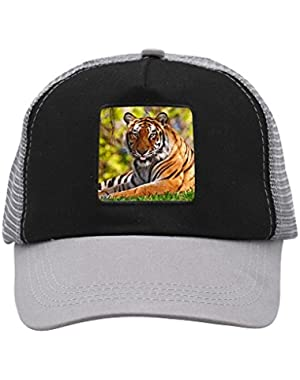 Unisex Tiger Sun Adjustable Classic Hiphop Hat Baseball Cap Snapback Dad Hat