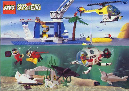 Lego Divers Discovery Station 1782