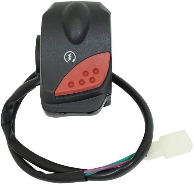 p2r commodo-commutateur Compatible avec Peugeot 50 ludix Droit