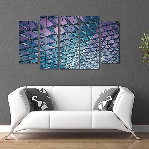 Feeby frames tableau multi panneau 5 parties grand - Tableau imprime sur verre ...