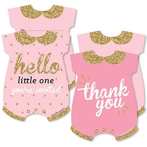 Hello Little One - Pink and Gold -