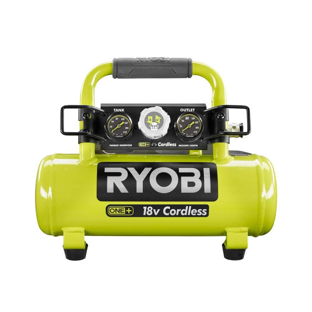 Ryobi 18-Volt ONE+ Cordless 1 Gal. Portable Air Compressor (Tool Only)