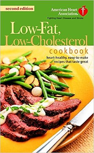 low cholesterol diet recipe book