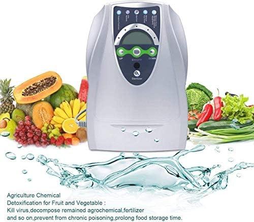 Generador Ozono Purificador Aire Desinfección Hogar y Coche Agua Desinfectador Ozono Para Esterilizador verduras, frutas Portátil 500 Mg/H desintoxicación máquina ...