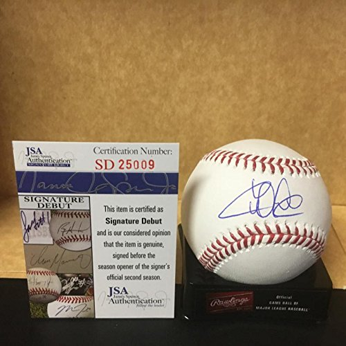 WILLSON CONTRERAS CHICAGO CUBS M.L. SIGNED BASEBALL JSA SD25009 by ALL STAR CARDS & COLLECTIBLES