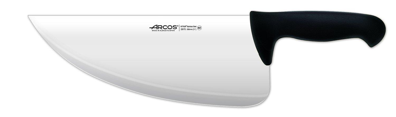 Arcos 11-1/2-Inch 290 mm 450 gm 2900 Range Cleaver, Black