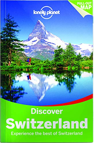 Map Lake Switzerland Geneva - Lonely Planet Discover Switzerland (Travel Guide)