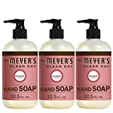 Mrs. Meyer's Liquid hand soap Rosemary, 12.5 fl oz, Pack of 3