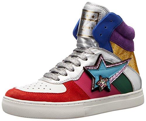 Marc Jacobs Women's Eclipse High Top Fashion Sneaker, Rainbow Multi, 37 EU/7 M US M9001833