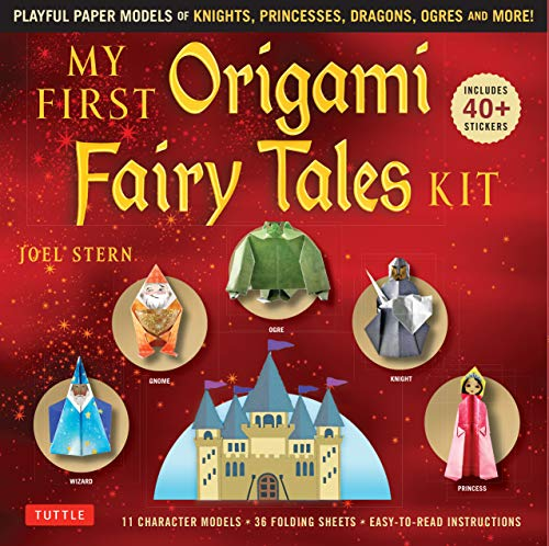 My First Origami Fairy Tales Ebook: Playful Paper Models of Knights, Princesses, Dragons, Ogres and More! (includes Printable Folding Sheets, Easy-to-Read Instructions and Printable Story Backdrops)