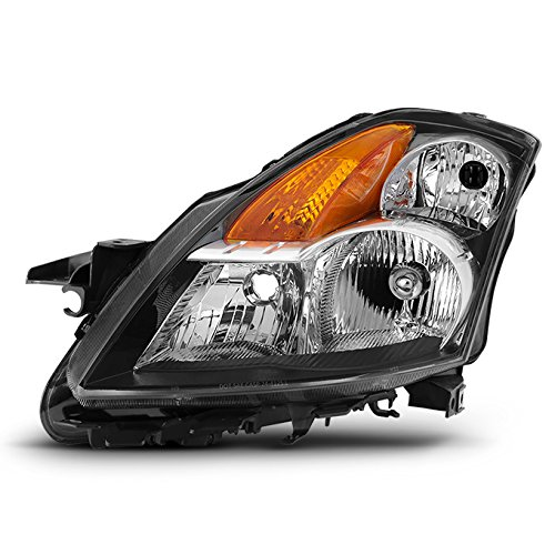 For 07-09 Altima 4 Doors Sedan Halogen Type Driver Left Side Headlight Front Lamp Direct - Altima Driver Front
