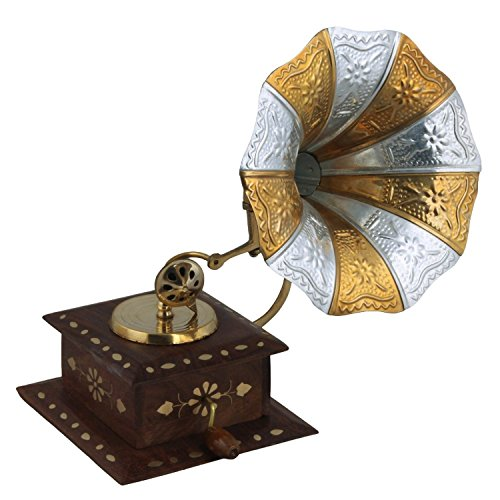 Gramophone handmade vintage dummy showpiece only for home for Online purchase home decor items