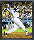 "Cody Bellinger Los Angeles Dodgers 2017 Action Photo (Size: 12"" x 15"") Framed"
