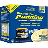 Maximum Human Performance Power Pudding Diet Supplements, Vanilla, 8.8oz - 6 Count