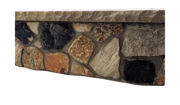 Set of 4 Fire Pit Seat Wall Liner Square