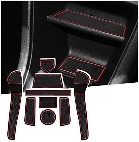 SHAOHAO Cool Car Slot Mats para V W UP/Seat MII/Citigo 2013+ Pad del Reposabrazos Caja de Almacenamiento: Amazon.es: Hogar