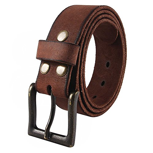 NPET Grain Leather Belts Strap product image
