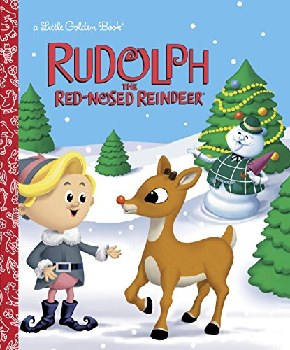 Christmas Movie Reindeer - Rudolph the Red-Nosed Reindeer (Rudolph the Red-Nosed Reindeer) (Little Golden Book)