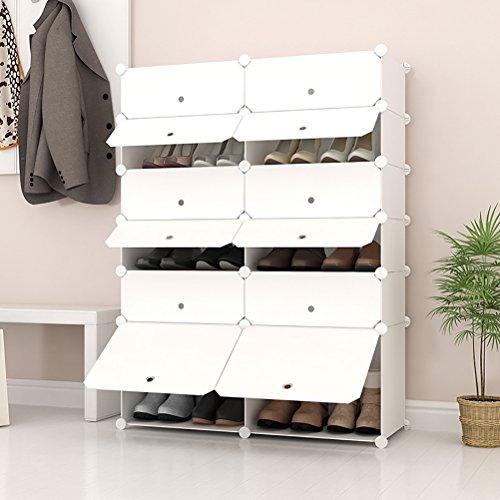 Joiscope Portable Shoe Storage Organzier Tower Modular
