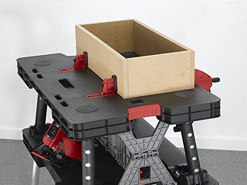 Tavolo Da Lavoro Keter : Tavola di lavoro multifunzione richiudibile portatile keter con