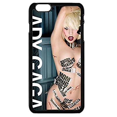 """The goddess poster Sexy Lady Gaga Black 4.7"""" Iphone 6/6S Phone Case"""