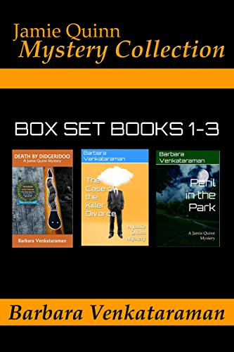 Jamie Quinn Mystery Collection: Box Set Books 1-3 by [Venkataraman, Barbara]