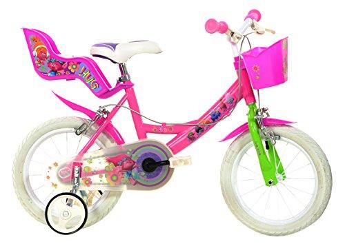 Dino Bikes 144R-TRO Trolls Bicycle, Kids Bike, Purple, 14-Inch
